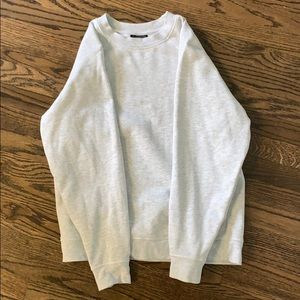 Topshop never before worn gray sweatshirt